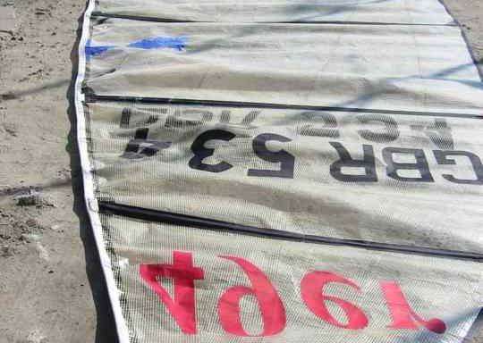 Żagiel grot NS treningowy do 49er (061012)