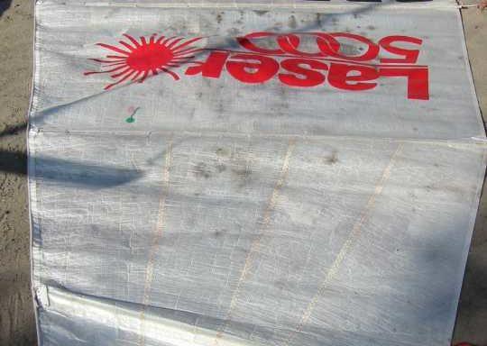 Żagiel grot używany 675cm x 272cm Laser5k (061014)